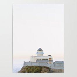 Giant Camera at San Francisco's Ocean Beach Sunrise Poster