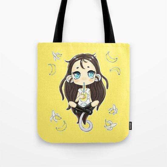 Banana Milkshake Tote Bag