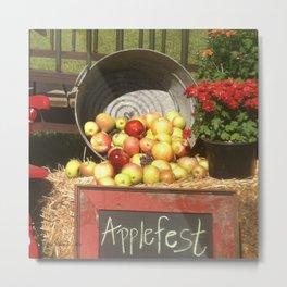 Apple Fest Metal Print