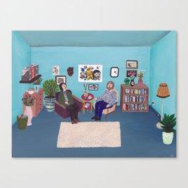 the Psychiatrists Room Canvas Print