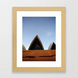 Sydney Opera House Front Door Framed Art Print