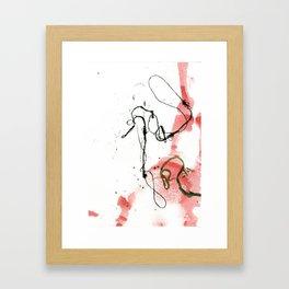 Thread Drawing no. 3 Framed Art Print
