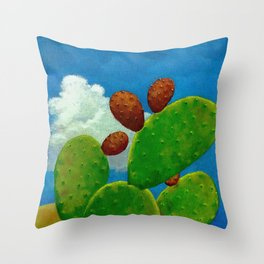 Nopal Throw Pillow