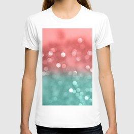 Summer Vibes Bokeh #1 #shiny #decor #art #society6 T-shirt