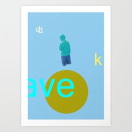 Aa Art Print
