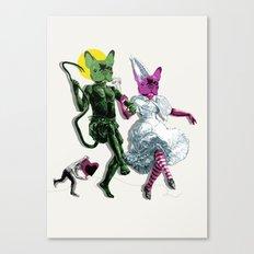 Dance, Chauncey, Dance - French Bulldog Canvas Print