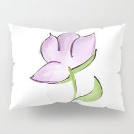 Purple Flower Pillow Sham