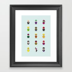 Really Super Warios Framed Art Print