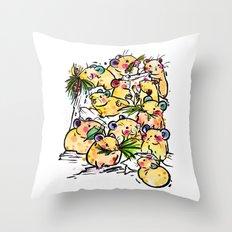 Pick Family Throw Pillow
