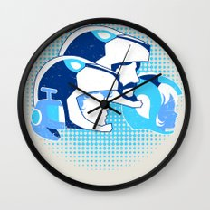 Travel Among Unknown Stars Wall Clock