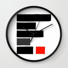 Redacted Wall Clock