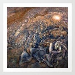 Jupiter's Clouds Art Print