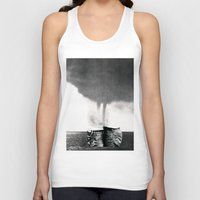 california Tank Tops featuring California by Erin Case