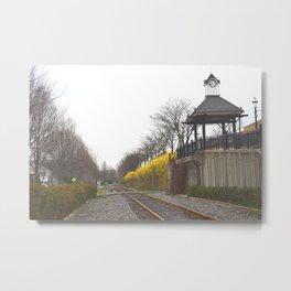 Pittsburgh train stop 3 Metal Print