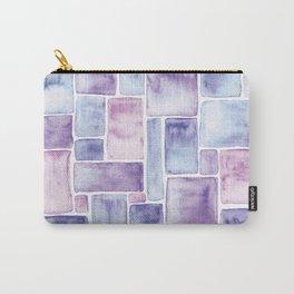 Watercolour Mosaic Pattern   Original Colors Carry-All Pouch
