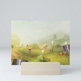 Plumber Summer Mini Art Print