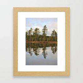 Autumn Reflector Framed Art Print