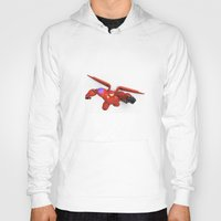 big hero 6 Hoodies featuring Baymax Big Hero 6 by ZariusArts