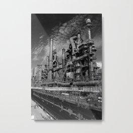 Bethlehem Steel Blast Furnace 9 Metal Print
