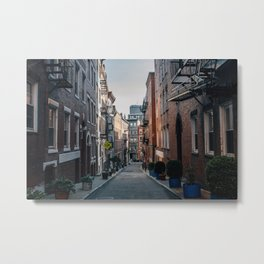 The North End, Boston Metal Print