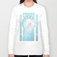 elsa Long Sleeve T-shirts featuring Elsa by Shelby Wolf