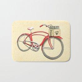 Beer Bike Bath Mat