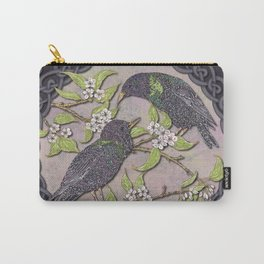 Celtic Starlings Carry-All Pouch