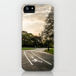 Brooklyn park entrance/exit iPhone Case