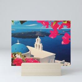 Oia Santorini Greece Mini Art Print