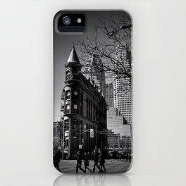 Gooderham  Black & White iPhone Case