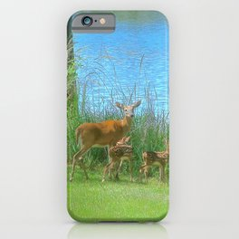 Lake Babies II iPhone Case