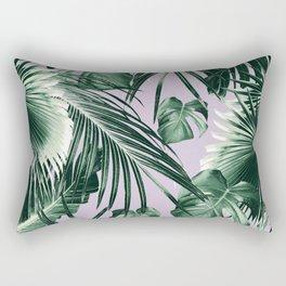 Tropical Jungle Leaves Dream #8 #tropical #decor #art #society6 Rectangular Pillow