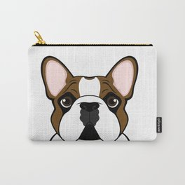 Frenchie - Fawn Pied Carry-All Pouch