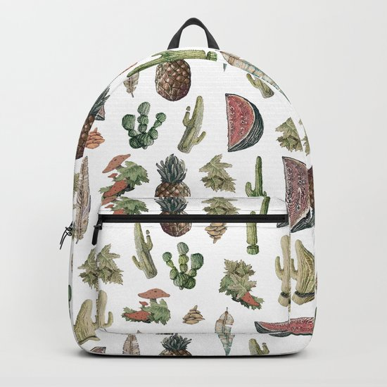 nature vibes with fruits Backpack