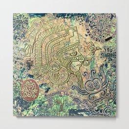 Ancient Mexico Metal Print