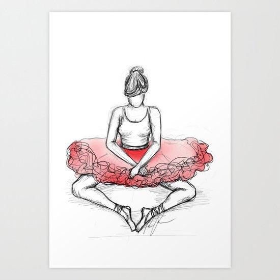 Can't Dance Art Print