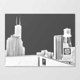 Salvation White Canvas Print