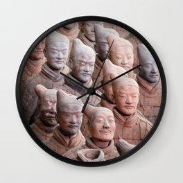 Xian Terracotta Warriors Wall Clock