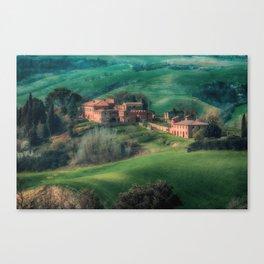 Crete senesi Canvas Print