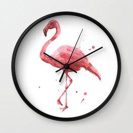 Coral Chic Wall Clock