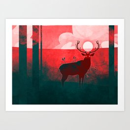 At Peace Art Print