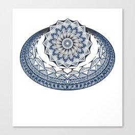 mandala doodle 0020 Canvas Print