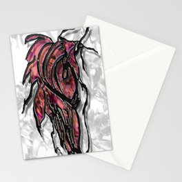 Push Forward with Courage Stationery Cards
