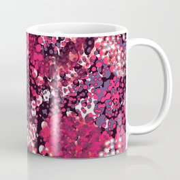 sparkling dots in red Coffee Mug