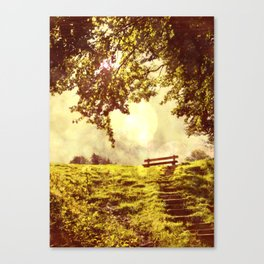 slow down Canvas Print