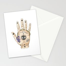Texas Palmistry Stationery Cards