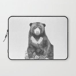 Malayan Sun Bear (Beruang Madu) Laptop Sleeve