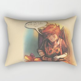 I'd Like to Be Kind - [Mother 3] Rectangular Pillow