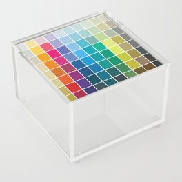 Colorful Soul - All colors together Acrylic Box