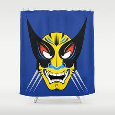 Kabuki Wolverine Shower Curtain